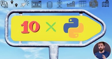 The Python Mega Course: Build 10 Real World Applications Udemy Course Torrent