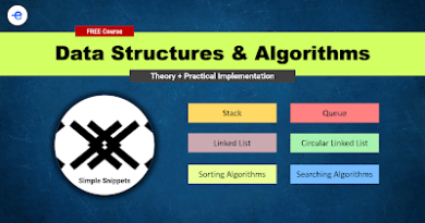 free edyoda course data structures and algorithms using C++