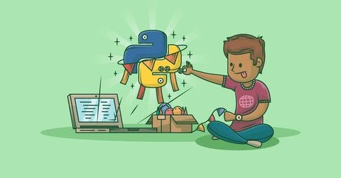 python and flask free udemy course