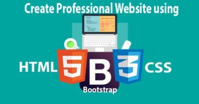 [Enroll] Udemy Free Course HTML, JavaScript & BootStrap for Web development