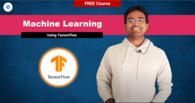 machine learning using tensorflow EdYoda free course