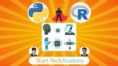 udemy free course ml dl in python and r