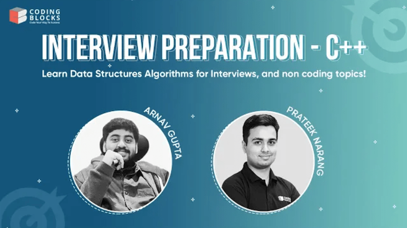 Interview Preparation C++ Coding Blocks Course Free Download