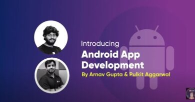 coding blocks android app development master course by arnav gupta & pulkit aggarwal free download